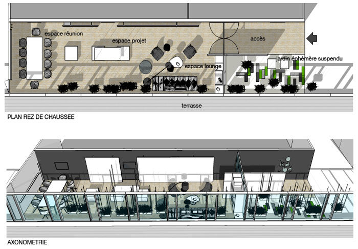 Marketing suite okabe a sh agence architecture d for Agence architecture interieur paris